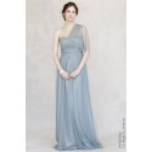 Jenny Yoo Annabelle Dress (Mayan Blue)